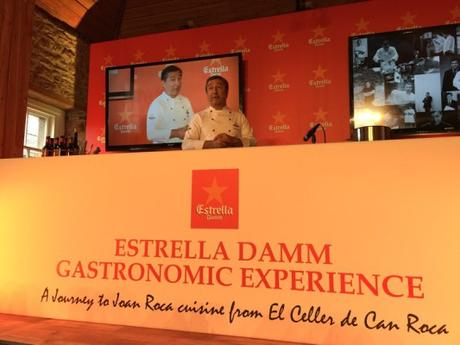 Event: Estrella Damm Gastronomic Experience with Chef Joan Roca