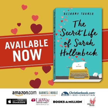 Blog Tour: The Secret Life of Sarah Hollenbeck by Bethany Turner