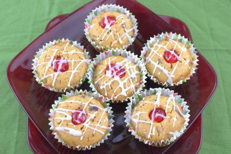 Fruitcake Muffins for #MuffinMonday