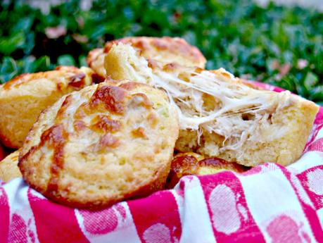 Crab Stuffed Corn Muffins for #MuffinMonday