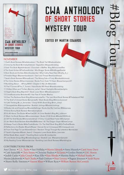 CWA Anthology: The Mystery Tour #BlogTour