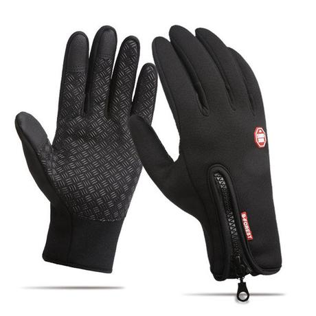 Newchic Black winter gloves