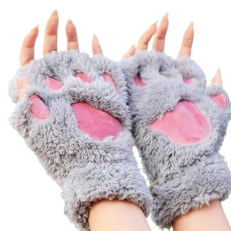 cartoon winter gloves
