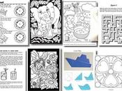 FREEBIE: Dover Coloring Pages, Puzzles, More (ALL)