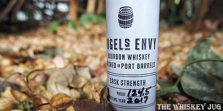 Angels Envy Cask Strength Label
