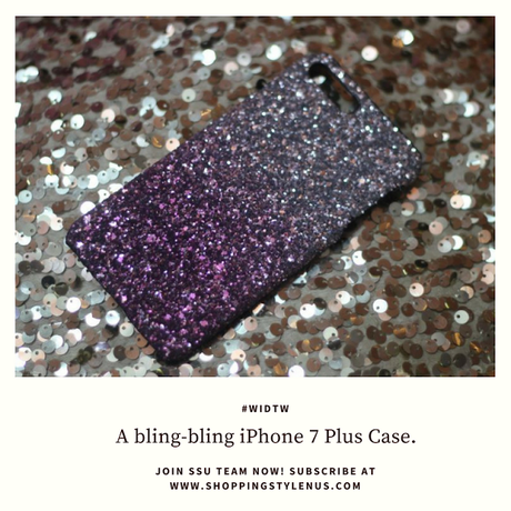 Shopping, Style and Us - iPhone 7 Plus Cases Available under Rs.300 in the market. This glitter case in ombre finish is everything a girl wuld want.