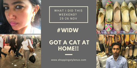 Shopping, Style and Us - A Series of Posts that talk about my weekend adventures in market and otherwise!