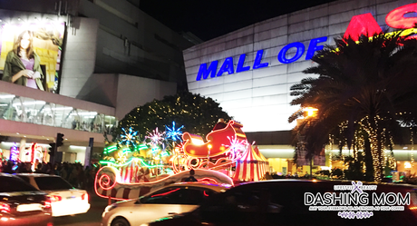 SM Mall of Asia Most Magical Christmas Parade 2017