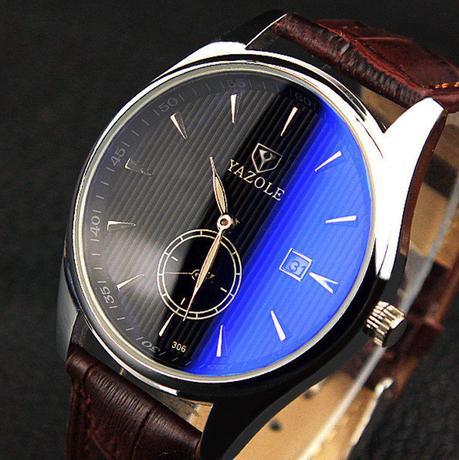 Newchic calenda leather watch