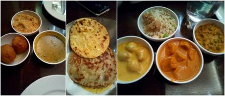 Dal baati churma and Rajasthani Main course in Goldfinch hotel food festival