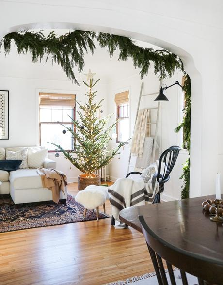 How-To: The Nordic Style Christmas Tree Basket