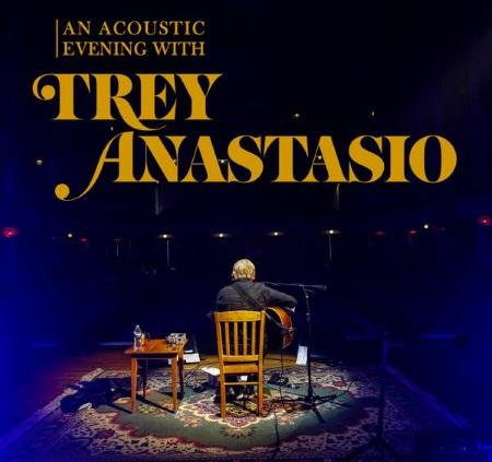 Trey Anastasio: 2018 solo acoustic tour dates