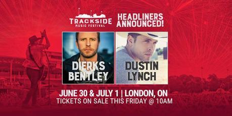 Trackside Music Festival 2018 Headliner Announcement: Dierks Bentley & Dustin Lynch