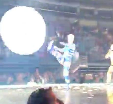 Open Post: Hosted By Katy Perry Nearly DecapitatingA Fan With A Ball