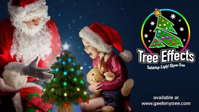 Geek My Tree Special Offer: Get a FREE Pet Paw Cap When Purchased with Tree Effects!