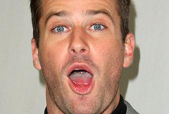 WATCH: Armie Hammer reveals which intimate body part was