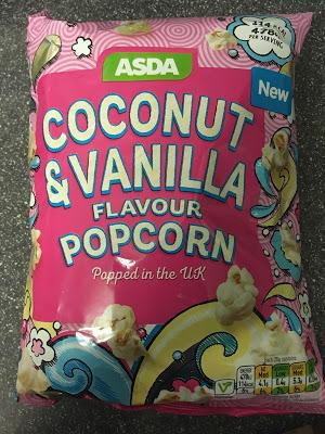 Today's Review: Asda Coconut & Vanilla Popcorn