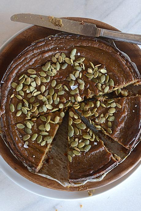 crunchy crust spiced pumpkin pie