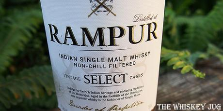 Rampur Indian Single Malt Label