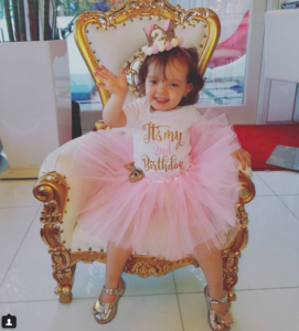 Ice -T & Coco's Daughter Chanel Nicole Turns 2