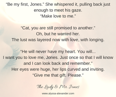 The Lady and Mr. Jones by Alyssa Alexander