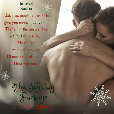 Cover Reveal: The Holiday Package by Leigh Lennon