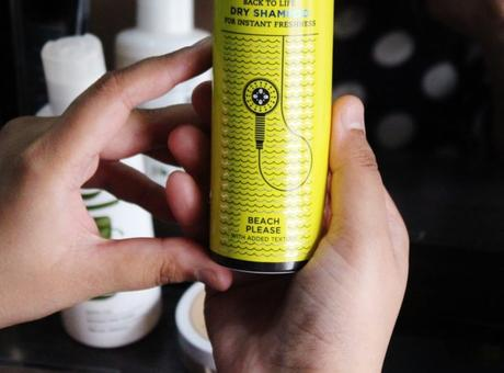 Review: BBLUNT Back To Life Dry Shampoo - BEACH PLEASE