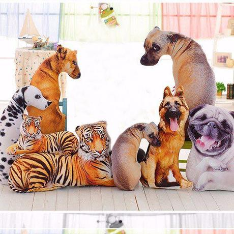 decorative animal pillow