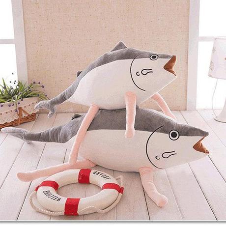 large fish shaped pillows