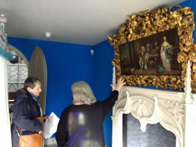 A Visit to Strawberry Hill @strawbhillhouse with LW's Richard III @roquesrichard