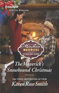 The Maverick's Snowbound Christmas by Karen Rose Smith- Feature and Review