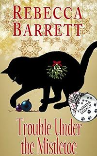 Trouble Under the Mistletoe by Rebecca Barrett- Feature and Review