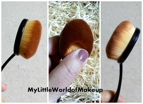 WiseShe Oval Makeup Brush - Review & Overall Thoughts