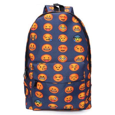 kawaii emonji backpack