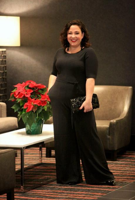 What I Wore: Cocktail Party Jumpsuit [Sponsored]
