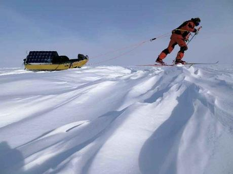 Antarctica 2017: Father-Son Team Skiing to the South Pole for Clean Energy