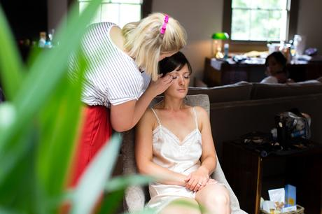 York & Albany Wedding Photography bride makeup