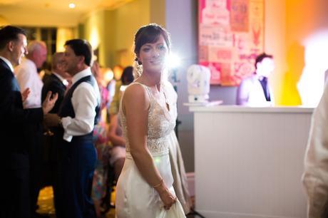 York & Albany Wedding Photography bride on dancefloor
