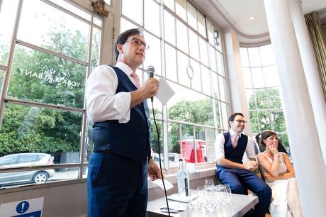 York & Albany Wedding Photography fathers speech