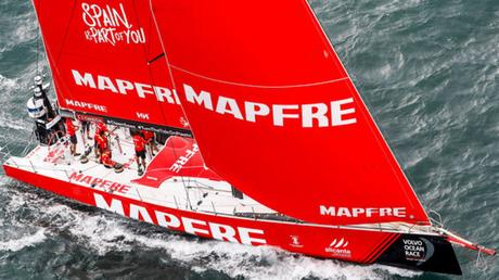 Team Mapfre Leads Volvo Ocean Race at End of Stage 2