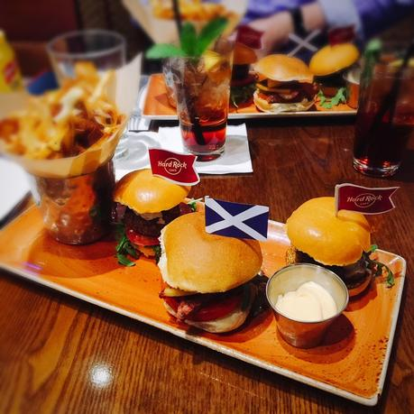 Celebrate St Andrew's day at Hard Rock Cafe