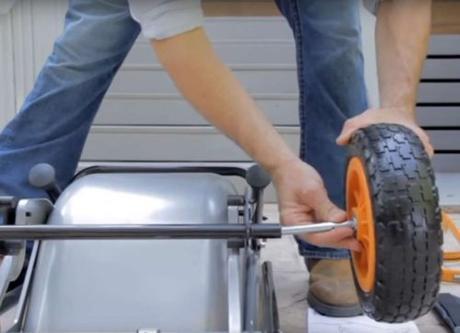aerocart 8-in-1 all-purpose wheelbarrow
