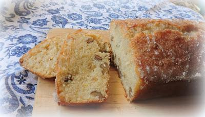 Lemon & Cardamom Drizzle Loaf