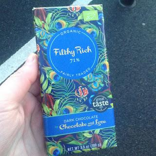 Chocolate and Love Filthy Rich Dark Chocolate