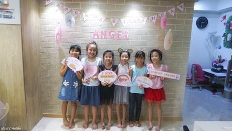 It's a Sylvanian Tea Party - Angel is 8!
