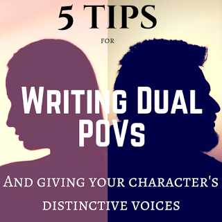 Tips for Writing Dual POVs with Distinctive Voices