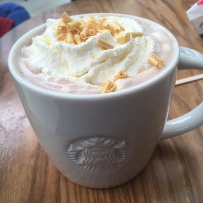 Today's Review: Starbucks Fudge Hot Chocolate