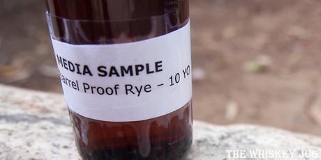 Redemption 10 Year Barrel Proof Rye Label