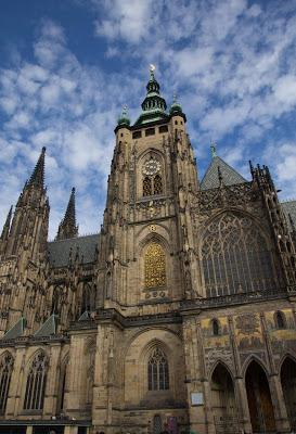 Prague 2: St. Vitus's Cathedral/Prague Castle   [Sky Watch Friday]