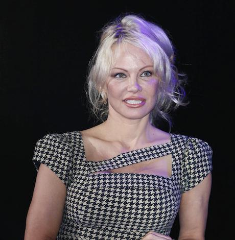 Pamela Anderson attends Warsaw Comic Con Fall 2017
